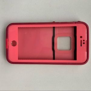 Pink life proof iPhone 6/6s case